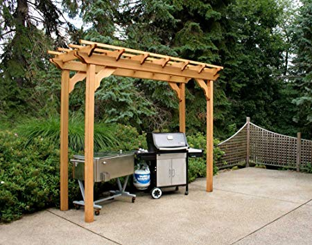 Pergola on the House