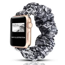 Scrunchie Apple Watch Bands